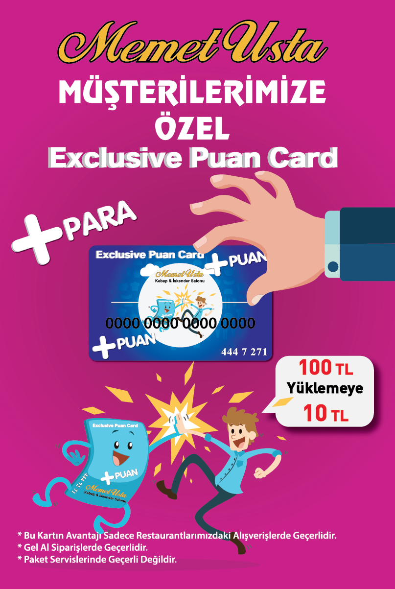 Exclusive Puan Card